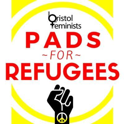 Pads for Refugees logo