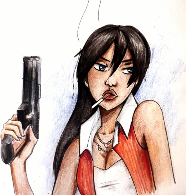 Sophia Marshall feminist anime